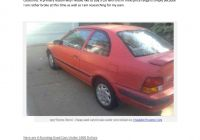 Used Cars Near Under 1000 Dollar New Used Cars for Sale Under $1000 On Craigslist Cars by Blogg