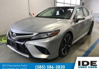 Used Cars Rochester Ny Inspirational Pre Owned 2018 toyota Camry Xse 4dr Car In Rochester Uh6616