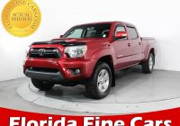 Used Cars Tacoma Fresh Used 2013 toyota Ta A Crew Cab Prerunner Truck for Sale In