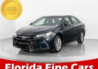 Used Cars West Palm Beach Best Of Used 2017 toyota Camry Se Sedan for Sale In West Palm Fl