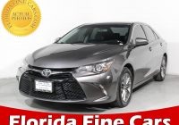 Used Cars West Palm Beach Lovely Used 2017 toyota Camry Se Sedan for Sale In West Palm Fl