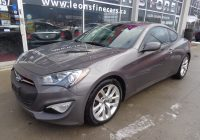Used Hyundai Genesis for Sale Beautiful Used 2013 Hyundai Genesis Coupe for Sale at Leon S Fine Cars