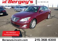 Used Hyundai Genesis for Sale Best Of Used 2012 Hyundai Genesis for Sale at Bergey S Lincoln
