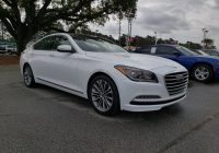 Used Hyundai Genesis for Sale Luxury Used 2016 Hyundai Genesis for Sale at Hyundai Of north Charleston