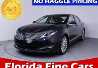 Used Lincoln Cars for Sale Near Me Best Of Used 2013 Lincoln Mkz Sedan for Sale In Miami Fl