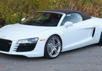 Used R8 New Turn Heads with This 2011 Audi R8 Spyder and Enjoy Its V8