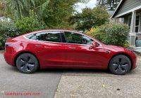 Used Tesla $5000 Awesome Model 3 2019 Red B1572