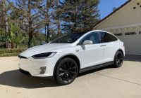 Used Tesla $5000 Awesome Model X 2018 Pearl while Multi Coat F00d7