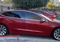 Used Tesla $5000 Inspirational Model 3 2020 Red A5d37