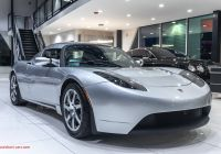 Used Tesla A Lovely Used 2008 Tesla Roadster Very Rare Example 1 Of 2 450