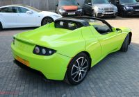 Used Tesla Car Prices New Used Tesla Roadster Auto Kermit Green 0 0 Convertible