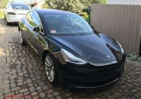Used Tesla How Much Beautiful Model 3 2017 solid Black 17d1e