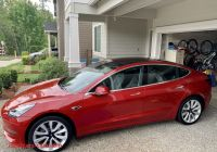 Used Tesla How Much Inspirational Model 3 2018 Red 4ac5f