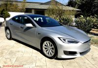 Used Tesla How Much New Model S 2016 Silver 7241e