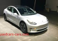 Used Tesla Model 3 New Tesla Model 3 for Sale Used Electric Car Emerges but It