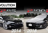Used Tesla Vs New Awesome Pare An Old Tesla Model S P85 to A New P100d