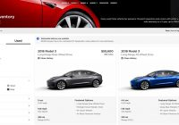 Used Tesla Website Lovely Tesla Sells Used Model 3 Cars Online and Values are