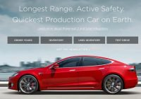Used Tesla Website Luxury Tesla Adds Certified Pre Owned Vehicles Section to their