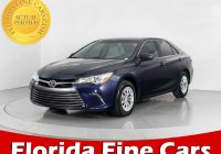 Used toyota Cars for Sale Fresh Used 2016 toyota Camry Le Sedan for Sale In Hollywood Fl