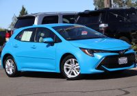 Used toyota Corolla Awesome Used 2019 toyota Corolla Hatchback Se Fwd