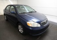 Used toyota Corolla Best Of Used 2005 toyota Corolla Le