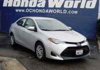 Used toyota Corolla for Sale Elegant Used toyota Corolla for Sale Near Tustin Ca Honda World Oc
