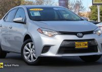 Used toyota Corolla for Sale Fresh Pre Owned 2016 toyota Corolla Le 4d Sedan In Newark Ud1991x