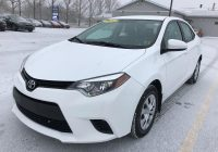 Used toyota Corolla for Sale Fresh Used toyota Corolla 2014 for Sale In Charlottetown Prince Edward