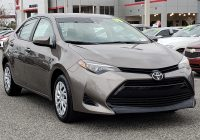 Used toyota Corolla Fresh Pre Owned 2019 toyota Corolla Le Fwd 4dr Car