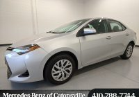 Used toyota Corolla Inspirational Used 2017 toyota Corolla Auto for Sale In Baltimore Md