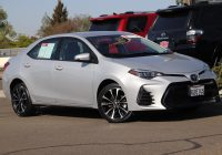 Used toyota Corolla Inspirational Used 2018 toyota Corolla Se 4dr Car