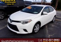 Used toyota Corolla Lovely Used 2016 toyota Corolla 4dr Sdn Cvt S W Special Edition Pkg