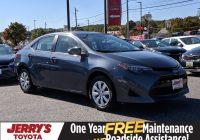 Used toyota Corolla Luxury Pre Owned 2018 toyota Corolla Le Fwd 4dr Car
