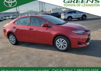 Used toyota Corolla New Used 2017 toyota Corolla Le 4dr Car Fwd