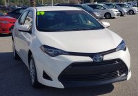 Used toyota Corolla Unique Pre Owned 2019 toyota Corolla Le Fwd 4dr Car