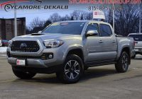 Used toyota Tacoma Awesome Pre Owned 2018 toyota Ta A Trd Sport 4wd Crew Cab Pickup