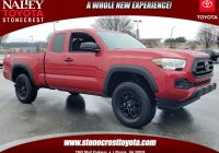 Used toyota Tacoma Awesome Pre Owned 2020 toyota Ta A 2wd Sr Rwd Extended Cab Pickup