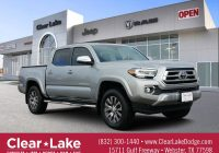 Used toyota Tacoma Best Of Pre Owned 2020 toyota Ta A 4wd Limited