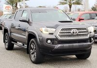 Used toyota Tacoma Elegant Certified Pre Owned 2017 toyota Ta A Trd Sport Rwd Double Cab