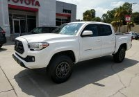 Used toyota Tacoma Fresh Certified Pre Owned 2018 toyota Ta A Sr5 4×4 4wd Double Cab