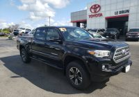 Used toyota Tacoma Fresh Pre Owned 2017 toyota Ta A Trd Sport 4wd Crew Cab Pickup