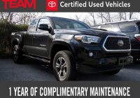 Used toyota Tacoma Inspirational 2018 toyota Ta A Trd Sport Access Cab 6 Bed V6 4×4 at