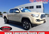 Used toyota Tacoma Inspirational Certified Pre Owned 2018 toyota Ta A Trd Sport 4wd Crew Cab Pickup