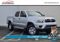 Used toyota Tacoma Lovely Used 2013 toyota Ta A Double Cab Prerunner Pickup 4d 5 Ft