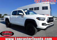 Used toyota Tacoma Luxury Certified Pre Owned 2019 toyota Ta A 4wd Trd Pro 4wd Crew Cab Pickup