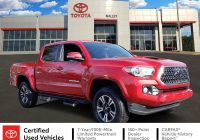 Used toyota Tacoma Luxury Pre Owned 2019 toyota Ta A 4wd Trd Sport 4wd Crew Cab Pickup