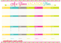 Vacation Planner Awesome Vacation Planning Printable Pack organizing Homelife