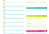Vacation Planner Unique Vacation Planning Printable Pack organizing Homelife
