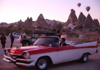 Vintage Cars Awesome Visitors to Cappadocia Class It Up with Vintage Cars