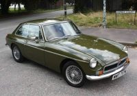 Vintage Sports Cars for Sale In Usa Beautiful 1974 Mgb Gt Tundra Green